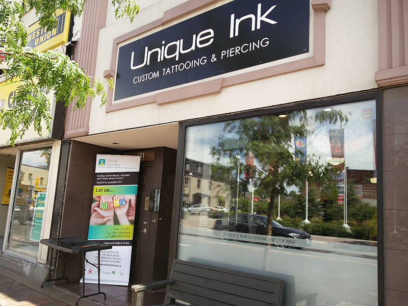 Charity Tattoo Event At Unique Ink Custom Tattooing and Piercing Shop
